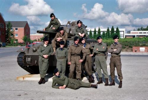 1983 1987 B Esk 103 Verkbat Groeps en vtgbemanningen Chaffee Inz. Wmr I Jan Pol 4