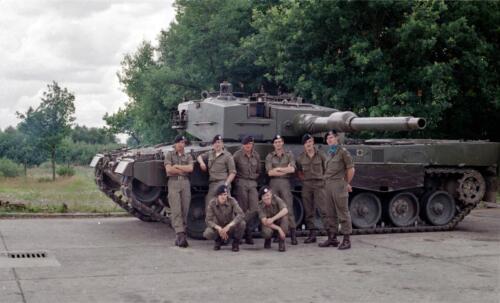 1983 1987 B Esk 103 Verkbat Groeps en vtgbemanningen Leopard Inz. Wmr I Jan Pol 12