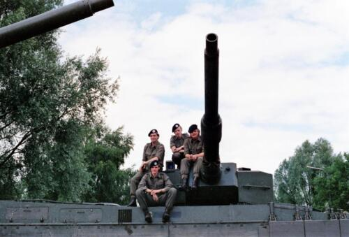 1983 1987 B Esk 103 Verkbat Groeps en vtgbemanningen Leopard Inz. Wmr I Jan Pol 18