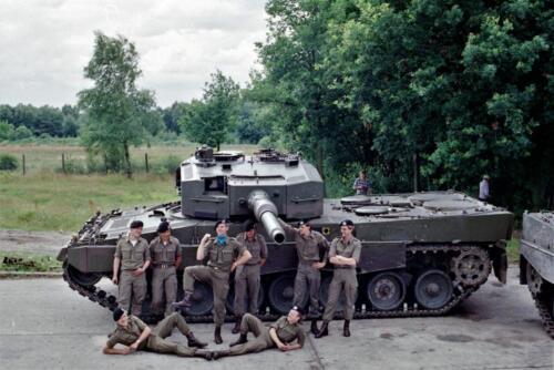 1983 1987 B Esk 103 Verkbat Groeps en vtgbemanningen Leopard Inz. Wmr I Jan Pol 3