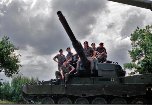 1983 1987 B Esk 103 Verkbat Groeps en vtgbemanningen Leopard Inz. Wmr I Jan Pol 4