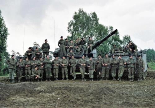 1983 1987 B Esk 103 Verkbat Groeps en vtgbemanningen Leopard Inz. Wmr I Jan Pol 7