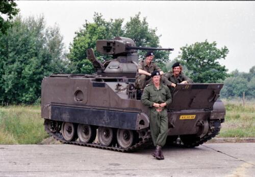 1983 1987 B Esk 103 Verkbat Groeps en vtgbemanningen bij de CV Wmr I Jan Pol 12