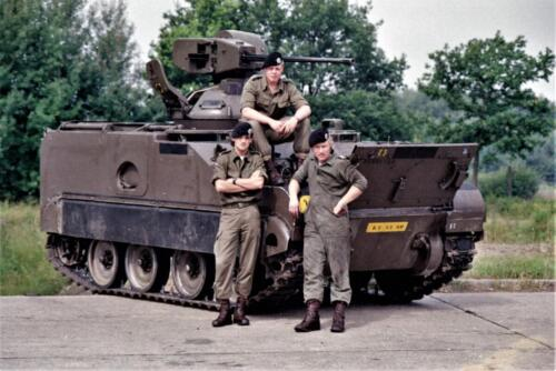 1983 1987 B Esk 103 Verkbat Groeps en vtgbemanningen bij de CV Wmr I Jan Pol 16