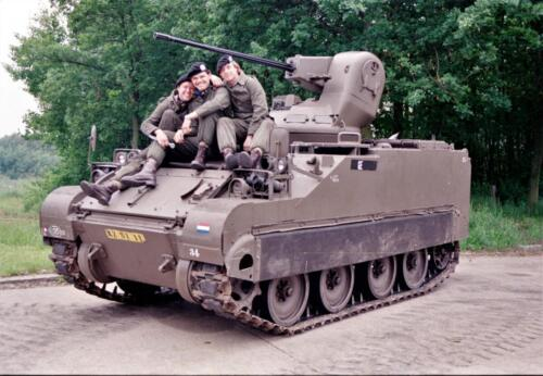 1983 1987 B Esk 103 Verkbat Groeps en vtgbemanningen bij de CV Wmr I Jan Pol 2
