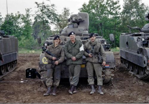 1983 1987 B Esk 103 Verkbat Groeps en vtgbemanningen bij de CV Wmr I Jan Pol 28