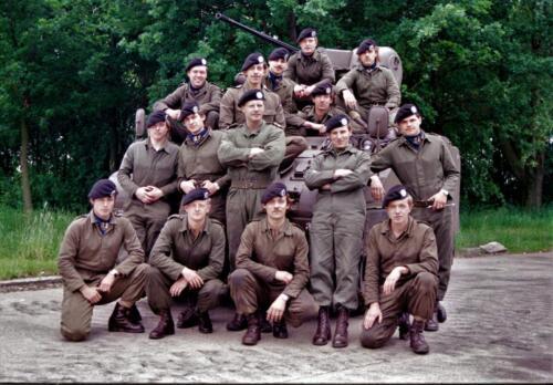 1983 1987 B Esk 103 Verkbat Groeps en vtgbemanningen bij de CV Wmr I Jan Pol 29