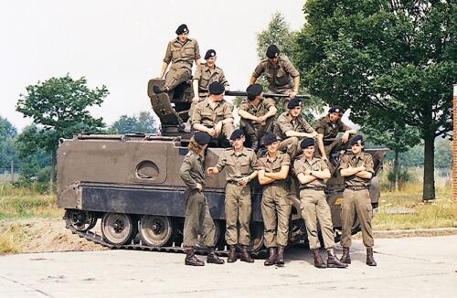1983 1987 B Esk 103 Verkbat Groeps en vtgbemanningen bij de CV Wmr I Jan Pol 37