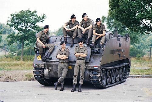 1983 1987 B Esk 103 Verkbat Groeps en vtgbemanningen bij de CV Wmr I Jan Pol 42