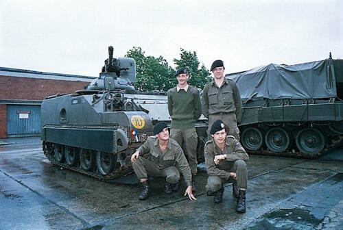 1983 1987 B Esk 103 Verkbat Groeps en vtgbemanningen bij de CV Wmr I Jan Pol 50