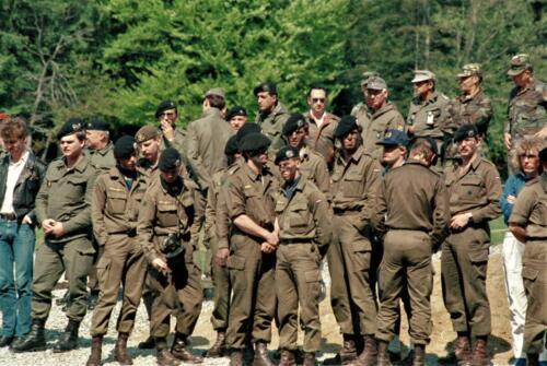 1983 1987 B Esk 103 Verkbat Groeps en vtgbemanningen o.a. Elnt Dulfer en Ritm vd Aker Inz. Wmr I Jan Pol