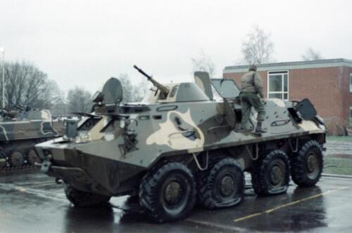 1983 1987 B Esk 103 Verkbat Inlichtingendagen Seedorf Inz. Wmr I Jan Pol 7