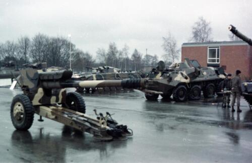 1983 1987 B Esk 103 Verkbat Inlichtingendagen Seedorf Inz. Wmr I Jan Pol 9