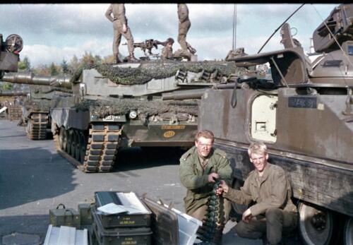 1983 1987 B Esk 103 Verkbat Munitiebeladingsoefening op de legerplaats Seedorf Inz. Wmr I Jan Pol 1