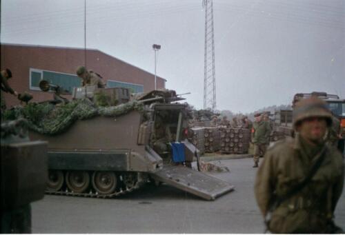 1983 1987 B Esk 103 Verkbat Munitiebeladingsoefening op de legerplaats Seedorf Inz. Wmr I Jan Pol 10