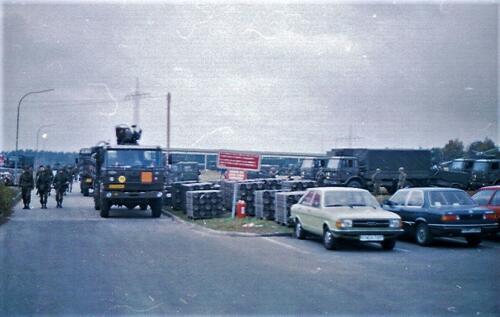 1983 1987 B Esk 103 Verkbat Munitiebeladingsoefening op de legerplaats Seedorf Inz. Wmr I Jan Pol 15