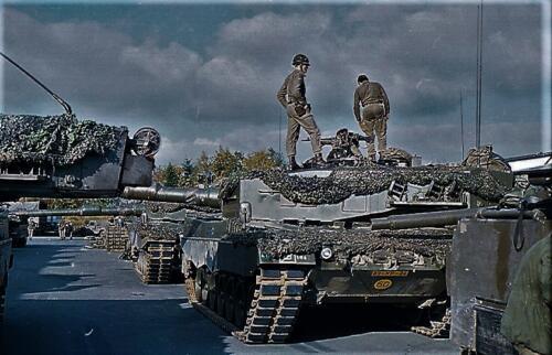 1983 1987 B Esk 103 Verkbat Munitiebeladingsoefening op de legerplaats Seedorf Inz. Wmr I Jan Pol 17
