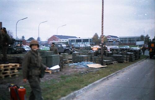 1983 1987 B Esk 103 Verkbat Munitiebeladingsoefening op de legerplaats Seedorf Inz. Wmr I Jan Pol 19
