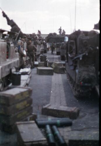 1983 1987 B Esk 103 Verkbat Munitiebeladingsoefening op de legerplaats Seedorf Inz. Wmr I Jan Pol 2