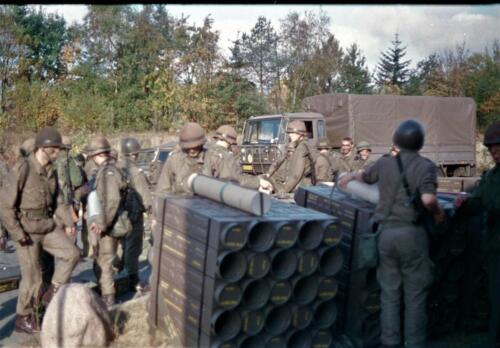 1983 1987 B Esk 103 Verkbat Munitiebeladingsoefening op de legerplaats Seedorf Inz. Wmr I Jan Pol 4