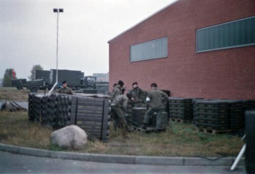 1983 1987 B Esk 103 Verkbat Munitiebeladingsoefening op de legerplaats Seedorf Inz. Wmr I Jan Pol 7