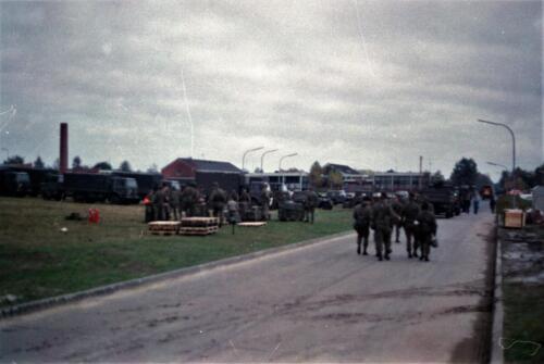 1983 1987 B Esk 103 Verkbat Munitiebeladingsoefening op de legerplaats Seedorf Inz. Wmr I Jan Pol 9