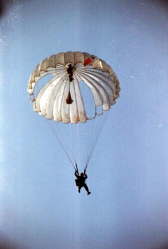1983 1987 B Esk 103 Verkbat Parachute springen. Inz. Wmr I Jan Pol 10