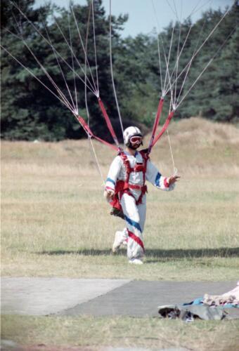 1983 1987 B Esk 103 Verkbat Parachute springen. Inz. Wmr I Jan Pol 11