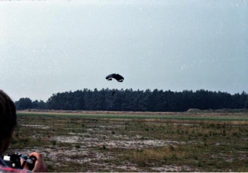 1983 1987 B Esk 103 Verkbat Parachute springen. Inz. Wmr I Jan Pol 12