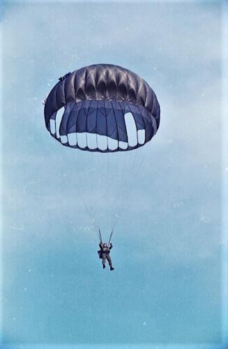 1983 1987 B Esk 103 Verkbat Parachute springen. Inz. Wmr I Jan Pol 13