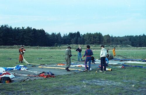 1983 1987 B Esk 103 Verkbat Parachute springen. Inz. Wmr I Jan Pol 15