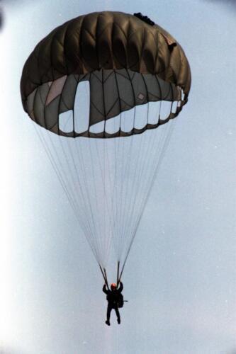1983 1987 B Esk 103 Verkbat Parachute springen. Inz. Wmr I Jan Pol 2