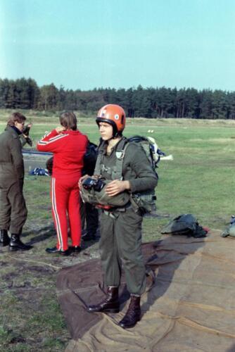 1983 1987 B Esk 103 Verkbat Parachute springen. Inz. Wmr I Jan Pol 5