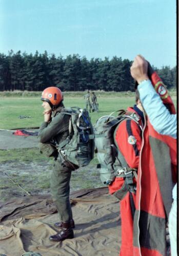1983 1987 B Esk 103 Verkbat Parachute springen. Inz. Wmr I Jan Pol 6