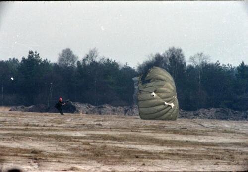 1983 1987 B Esk 103 Verkbat Parachute springen. Inz. Wmr I Jan Pol 8