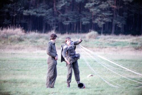 1983 1987 B Esk 103 Verkbat Parachute springen. Inz. Wmr I Jan Pol 9