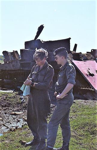 1983 1987 B Esk 103 Verkbat Schietseries gereedmaken en de gevolgen. Inz. Wmr I Jan Pol 11