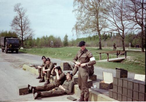 1983 1987 B Esk 103 Verkbat Schietseries gereedmaken en de gevolgen. Inz. Wmr I Jan Pol 16