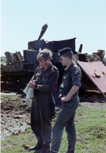 1983 1987 B Esk 103 Verkbat Schietseries gereedmaken en de gevolgen. Inz. Wmr I Jan Pol 23