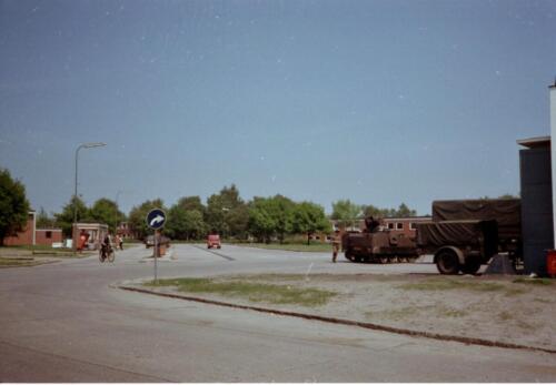 1983 1987 B Esk 103 Verkbat Seedorf Kaserne activiteiten. Inz. Wmr I Jan Pol 4