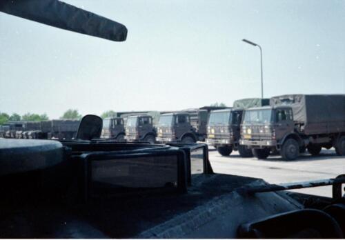 1983 1987 B Esk 103 Verkbat Seedorf Kaserne activiteiten. Inz. Wmr I Jan Pol 5