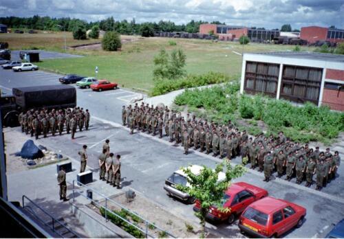 1983 1987 B Esk 103 Verkbat Seedorf Kaserne activiteiten. Inz. Wmr I Jan Pol 8