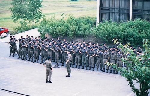 1983 1987 B Esk 103 Verkbat Seedorf Kaserne activiteiten. Inz. Wmr I Jan Pol 9