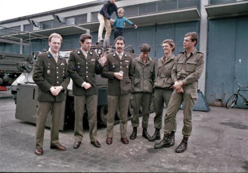 1983 1987 B Esk 103 Verkbat Tlnt Westhof Elnt vd Bos Ritm Pruijsenaere en re Elnt Dulfer. Wmr I Jan Pol 2