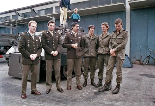 1983 1987 B Esk 103 Verkbat Tlnt Westhof Elnt vd Bos Ritm Pruijsenaere en re Elnt Dulfer. Wmr I Jan Pol 3