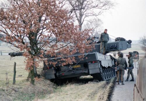 1983 1987 B Esk 103 Verkbat Veel oefeningen Inz. Wmr I Jan Pol 1
