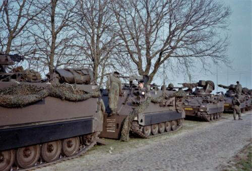1983 1987 B Esk 103 Verkbat Veel oefeningen Inz. Wmr I Jan Pol 110