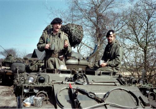 1983 1987 B Esk 103 Verkbat Veel oefeningen Inz. Wmr I Jan Pol 118