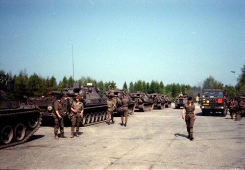 1983 1987 B Esk 103 Verkbat Veel oefeningen Inz. Wmr I Jan Pol 121