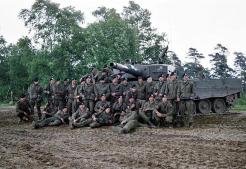 1983 1987 B Esk 103 Verkbat Veel oefeningen Inz. Wmr I Jan Pol 18